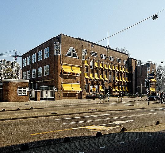 Exterior of CBRE building