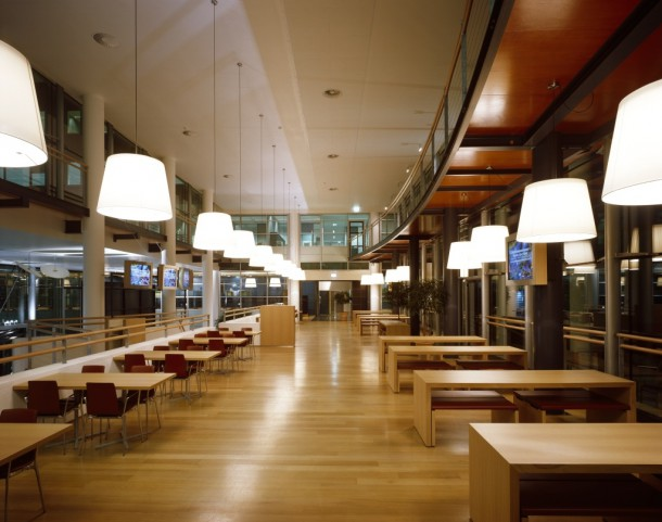 Restaurant area of Axa Verzekeringen