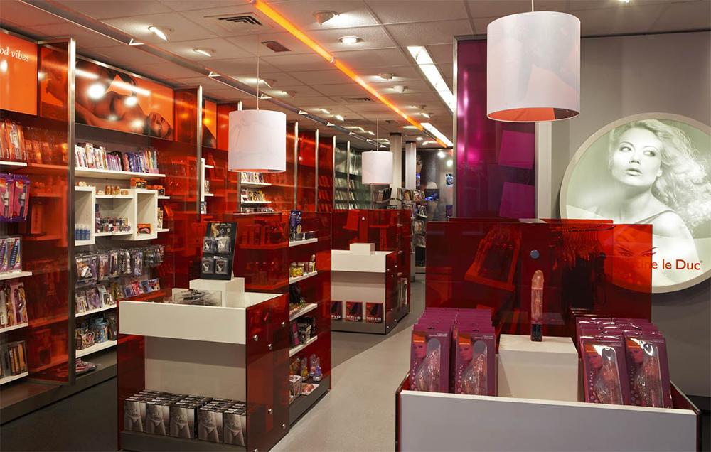 Interior of Christine le Duc shop