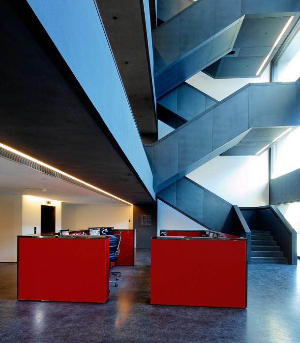 architecture reception